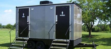 vip portable restroom trailers in Spokane WA