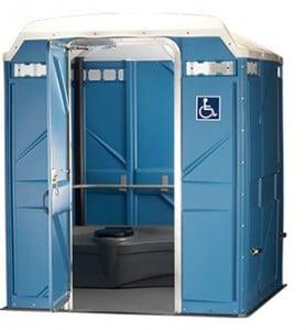 wheelchair accessible portable restroom spokane
